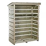 Bentley Garden Lager/Regal/Stapelhilfe für Brennholz/Kaminholz/Holzstapel - Klein & robust