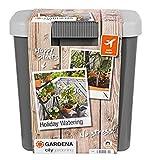 Gardena city gardening Urlaubsbewässerung: Beregnungs-Set mit Vorratsbehälter, für drinnen und draußen, Bewässerung von bis zu 36 Pflanzen (1266-20)