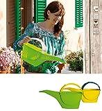Bama Spa Gießkanne für Zimmer Pflanzen 4 L Design Klein für Drinnen Balkon Kunststoff