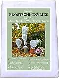 KRONLY Wintervlies 1,5 x 10m - Winterschutzvlies Frostschutz für Ihre Pflanzen Überwintern Thermovlies Pflanzenschutz gegen Kälte Winter Frostschutzvlies
